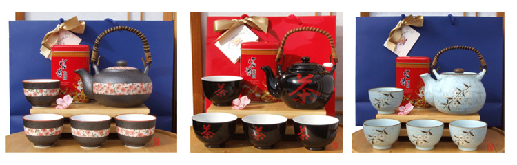 Tea pots & tea - Gifts Sets by Gifts Of The Orient