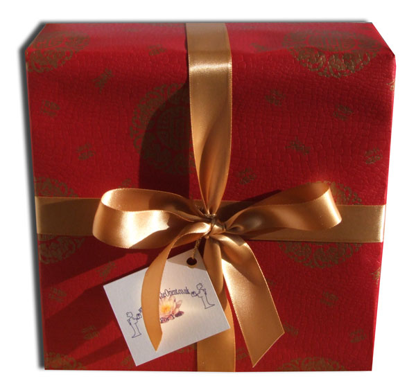 Gift wrapping service Chinese high quality red paper